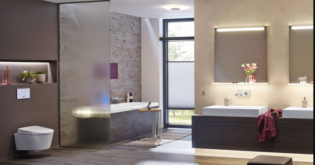 Apšvietimas vonios kambaryje